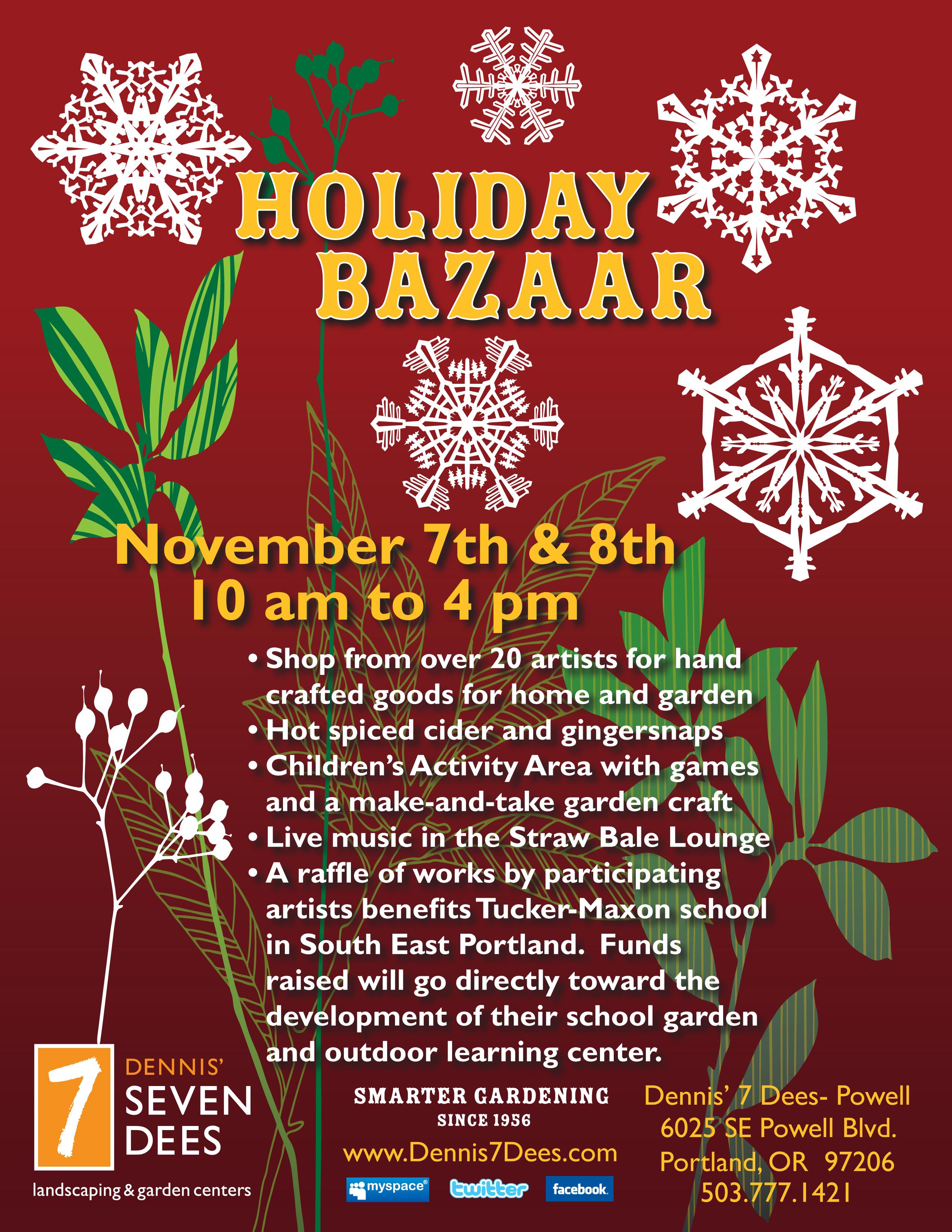 holiday bazaar flyerjpg